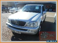 2002 Mercedes-Benz ML W163 320 (4x4) Silver Automatic 5sp A Wagon for Sale