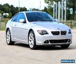 2005 BMW 6-Series 645ci E63 6-Ser,  Active Steering, Dynamic Drive for Sale