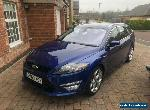 Matalic Blue Ford Mondeo Titanium X automatic power shift. 2.0 TDCI for Sale