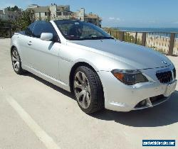 2005 BMW 6-Series CONVERTIBLE for Sale