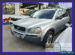 2005 Volvo XC90 P28 T6 Silver Automatic 4sp A Wagon for Sale