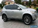 2005 Nissan Murano Z50 ST 3.5l V6 (Relisted due to buyer failing to make payment for Sale