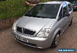 2006 VAUXHALL MERIVA LIFE TWINPORT SILVER spares or repairs  for Sale