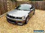 E46 BMW M3 Convertible with hard top for Sale