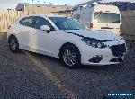 2016 MAZDA 3 BN MAXX 2.0L 6SPD AUTO 22KMS HATCH DAMAGED REPAIRABLE CURRENT SHAPE for Sale