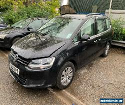 2012 Vw Sharan SE Bluemotion 2.0 TDI DSG Auto Damaged Repairable for Sale