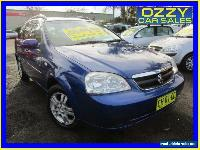 2006 Holden Viva JF Equipe Blue Automatic 4sp A Wagon for Sale