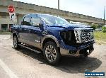 2017 Nissan Titan 4x4 Crew Cab 5.6 ft. box 139.8 in. WB Platinum Reserve for Sale