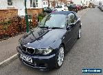 2005 BMW 320CI M SPORT CONVERTIBLE (1 Year MOT) - NO RESERVE for Sale