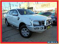 2013 Ford Ranger PX XLT White Automatic A 4D Utility for Sale