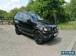 BMW X5 3.0i SPORT RARE MANUAL ,PRIVATE PLATE, 12 MONTHS MOT , BLACK,NO PX SWAP for Sale