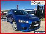 2011 Mitsubishi Lancer CJ Ralliart Blue Automatic A Hatchback for Sale