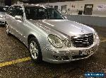 2008 MERCEDES E220 2.2 CDI AVANT GARDE - LEATHER, ALLOYS, CLIMATE, STUNNING for Sale
