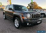 2015 Jeep Patriot MK Limited Grey Automatic A Wagon for Sale
