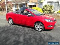 2008 FORD FOCUS CC-3 2.0 TDCI CONVERTIBLE IN RED for Sale