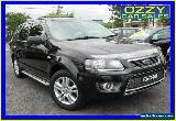 2010 Ford Territory SY MkII TS Limited Edition (4x4) Black Automatic 6sp A for Sale