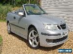 Saab 9-3 Convertible 2.0 Turbo - Silver for Sale