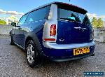 2008 08 REG MINI 1.6 COOPER CLUBMAN STUNNING CONDITION NICE TO DRIVE NO RESERVE  for Sale