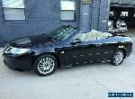 2009 Saab 9-3 MY08 Linear 2.0T BioPower Black Automatic 5sp A Convertible for Sale