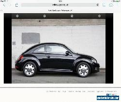 Black VW Beetle 1.6 Design TDI Bluemotion for Sale