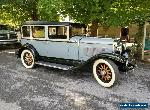 1929 Hupmobile A for Sale