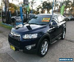 2012 Holden Captiva CG Series II 7 Blue Automatic A Wagon for Sale