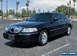 2011 Lincoln Town Car Town Car L extended wheel base for Sale