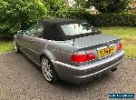 BMW E46 M3 Convertible - Manual, 11months MOT - December 2004/54 Plate for Sale