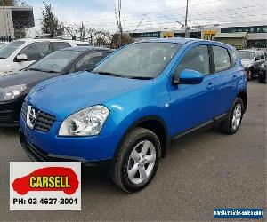 2009 Nissan Dualis J10 ST X-tronic AWD Blue Automatic 6sp A Hatchback for Sale