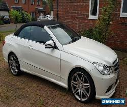 Mercedes E350 convertible AMG 21340 miles from new  for Sale