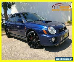 2002 Subaru WRX Blue undefined for Sale