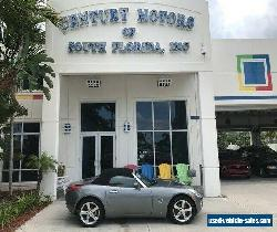 2006 Pontiac Solstice Leather Bucket Seats CD AUX XM Cruise ABS for Sale