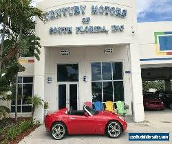 2006 Pontiac Solstice Leather CD A/C Manual Transmission Warranty Included for Sale