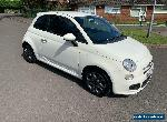 Fiat 500. S/s   1.2 petrol.  63 plate low tax  for Sale