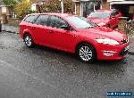2013 FORD MONDEO 1.6 TDCI ZETEC ESTATE IN RED for Sale