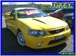 2006 Ford Falcon BF MkII XR8 Yellow Automatic 6sp A Utility for Sale