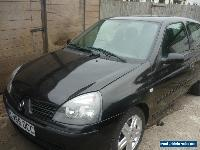 2006/56 RENAULT CLIO 1.2 CAMPUS SPORT 16V BLACK for Sale