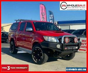 2011 Toyota Hilux KUN26R SR5 Red Automatic A Utility for Sale