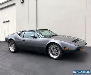 1972 De Tomaso Other for Sale