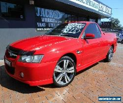 2006 Holden Commodore VZ MY06 SS Thunder Red Automatic 4sp A Utility for Sale