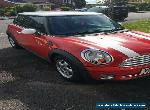 MINI ONE 1.4  RED /WHITE 74K 2 OWNERS- NICE CAR- FAMILY OWNED for Sale