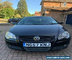 VW Polo 1.2S 2007 Black spares or repair for Sale