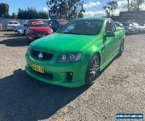 2007 Holden Commodore VE SS-V Green Automatic 6sp A Utility for Sale