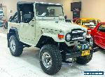 1978 Toyota Landcruiser SWB (4x4) Beige Manual 4sp M Softtop for Sale