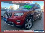 2013 Jeep Grand Cherokee WK MY14 Limited (4x4) Red Automatic 8sp A Wagon for Sale