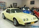 1979 Pontiac Firebird Esprit Yellow Automatic A Coupe for Sale