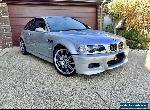 2002 BMW M3 E46 LOW KM not Porsche, Audi, AMG for Sale