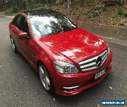 2010 Mercedes-Benz C250 W204 MY10 CGI Avantgarde Magma Red Automatic 5sp A for Sale