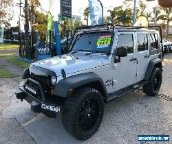 2008 Jeep Wrangler JK Unlimited Silver Automatic A Softtop for Sale