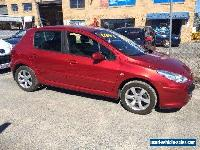 2006 Peugeot 307 XSE Red Automatic A Hatchback for Sale